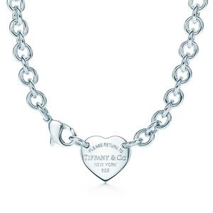 Tiffany Heart Tag Choker